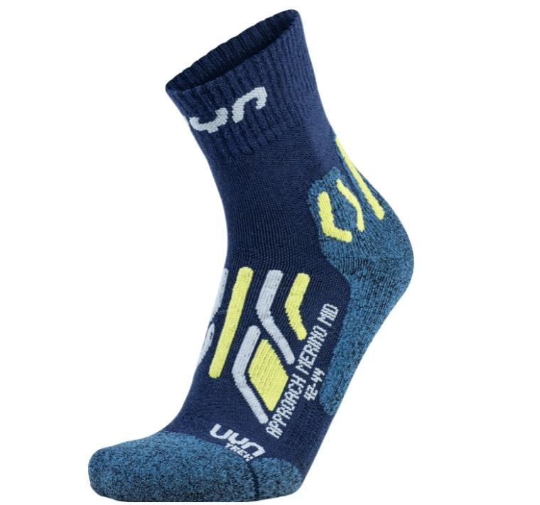 Uyn ponožky Man Trekking Aproach Merino Mid Socks Velikost: 39-41