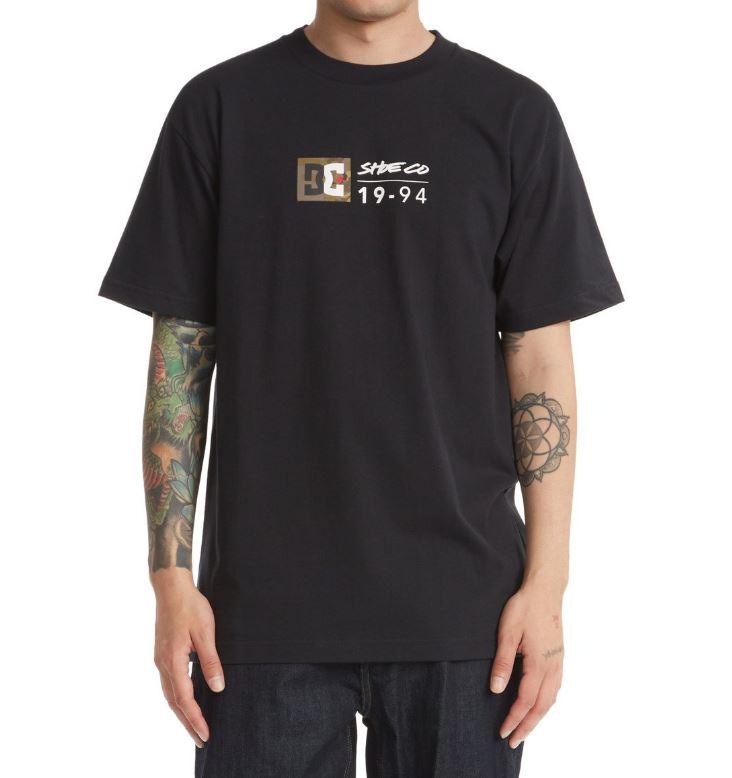 DC tričko Split Star HSS black Velikost: S