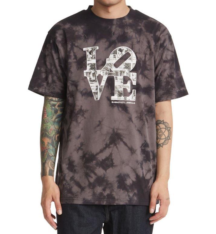 DC tričko Blabac Josh Kalis black/castlerock Velikost: S