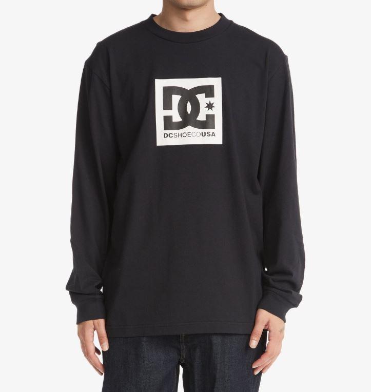 DC tričko Square Star HLS black Velikost: S