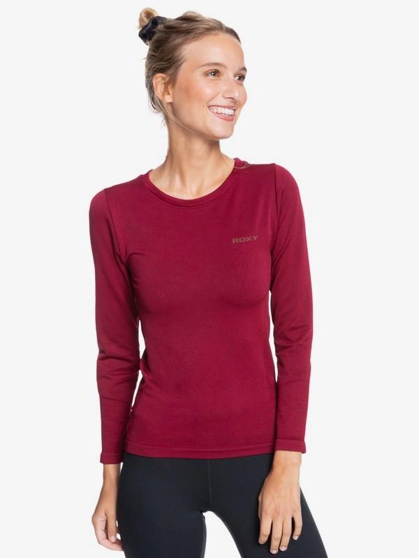 Roxy termo tričko Proud Of Being red Velikost: XS-S