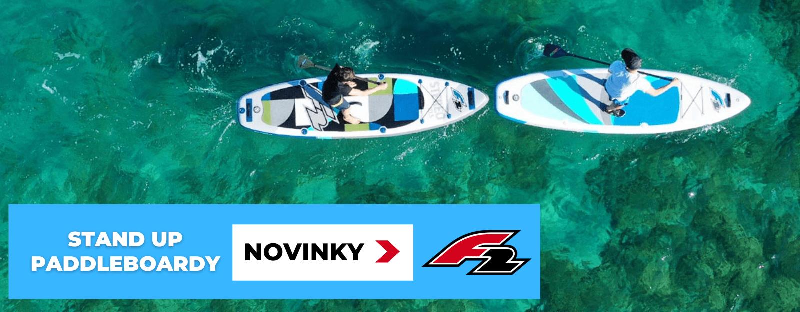 stand up paddleboardy F2 novinky