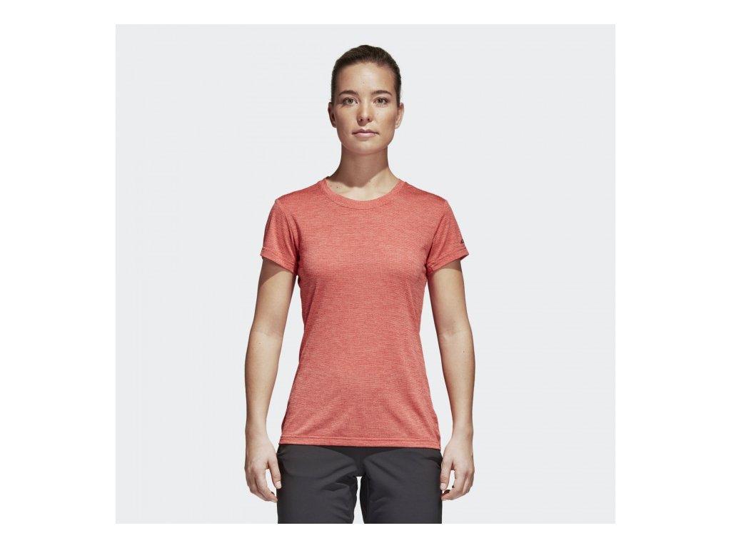 ADIDAS - tričko KR W Tivid Tee trasca (Velikost 36)