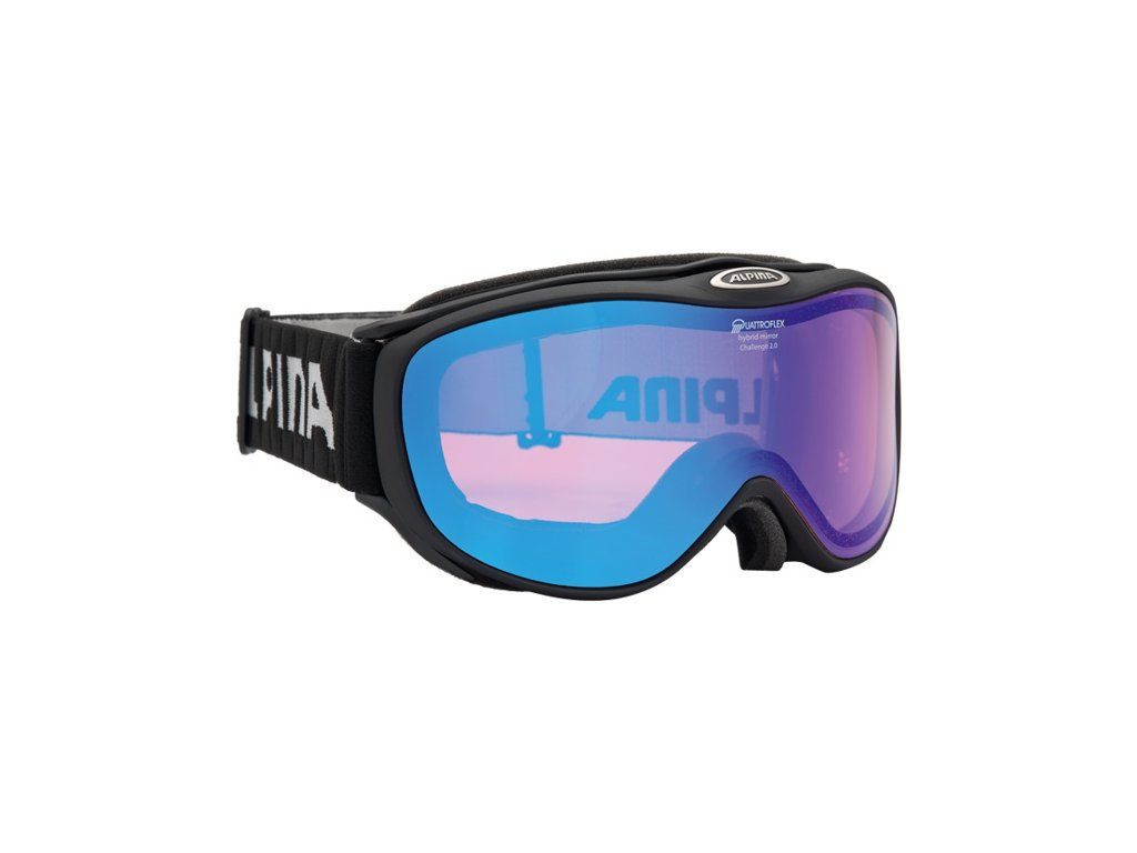 ALPINA - okuliare L CHALLENGE 2.0 QM black (Velikost UNI)