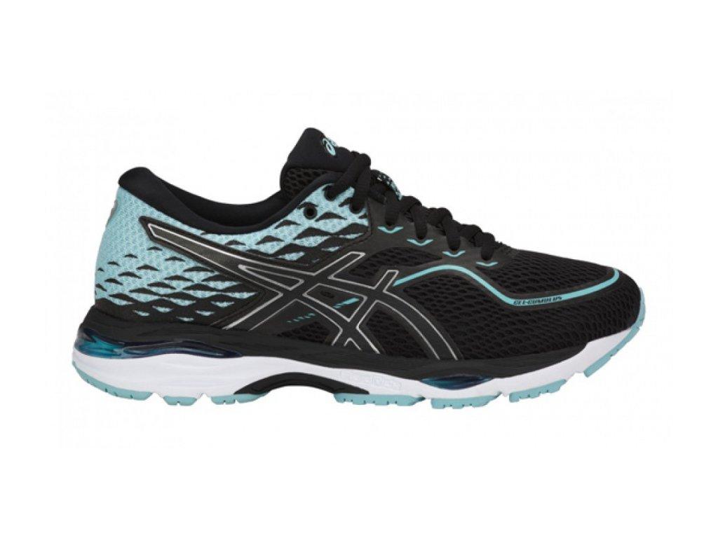 ASICS - obuv RUN GEL-CUMULUS 19 black/blue (Velikost 10)