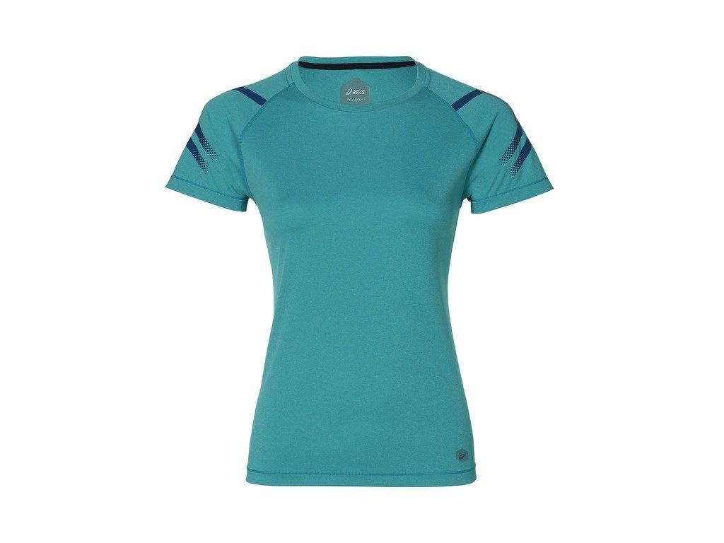 ASICS - tričko KR ICON SS blue (Velikost L)