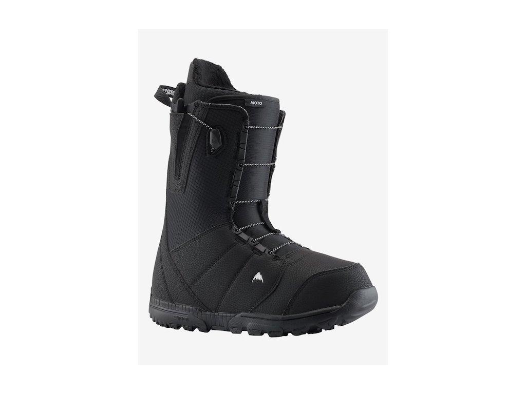 BURTON - obuv SNB MOTO 18/19 black (Velikost 10)