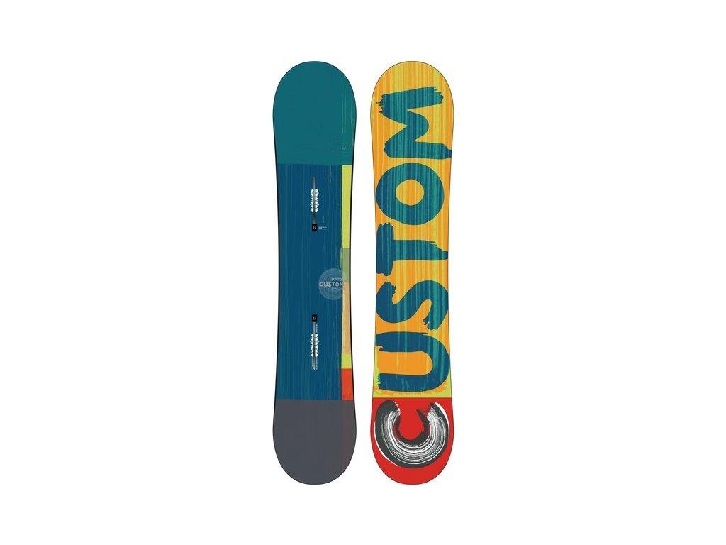 Burton - snowboard CUSTOM SMALLS 14/15 (Velikost 140)