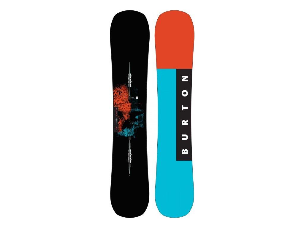 BURTON - snowboard INSTIGATOR  17/18 (Velikost 160)