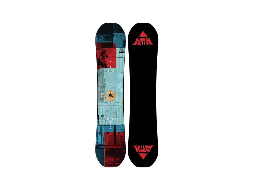 BURTON - snowboard RADIUS KIDS blue/orange (Velikost 120)