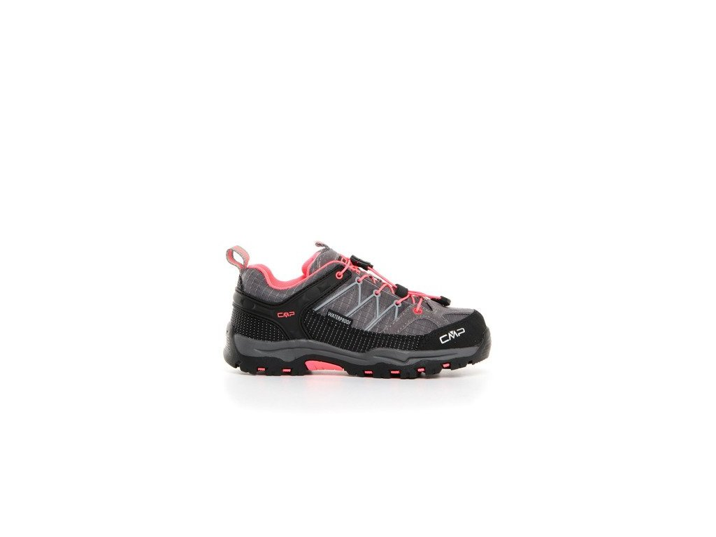 CAMPAGNOLO obuv OUT-A KIDS RIGEL LOW TREKKING SHOE WP grey/light pink (Velikost 36)