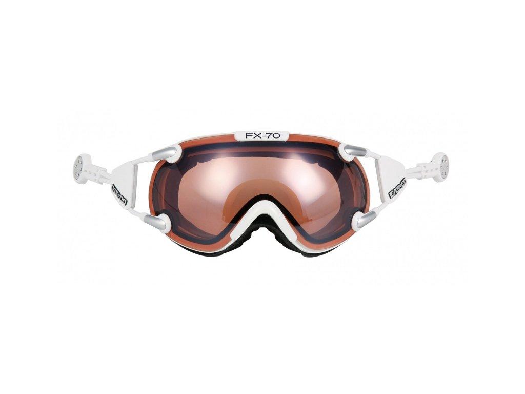 CASCO - okuliare L FX70 VAUTRON white 17/18 (Velikost L)