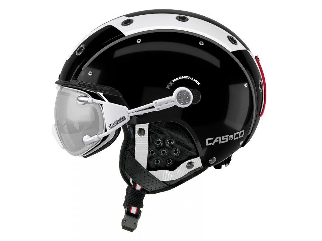 Casco SP3 Comp Black White Side+FX70 Carbonic 2511[1]