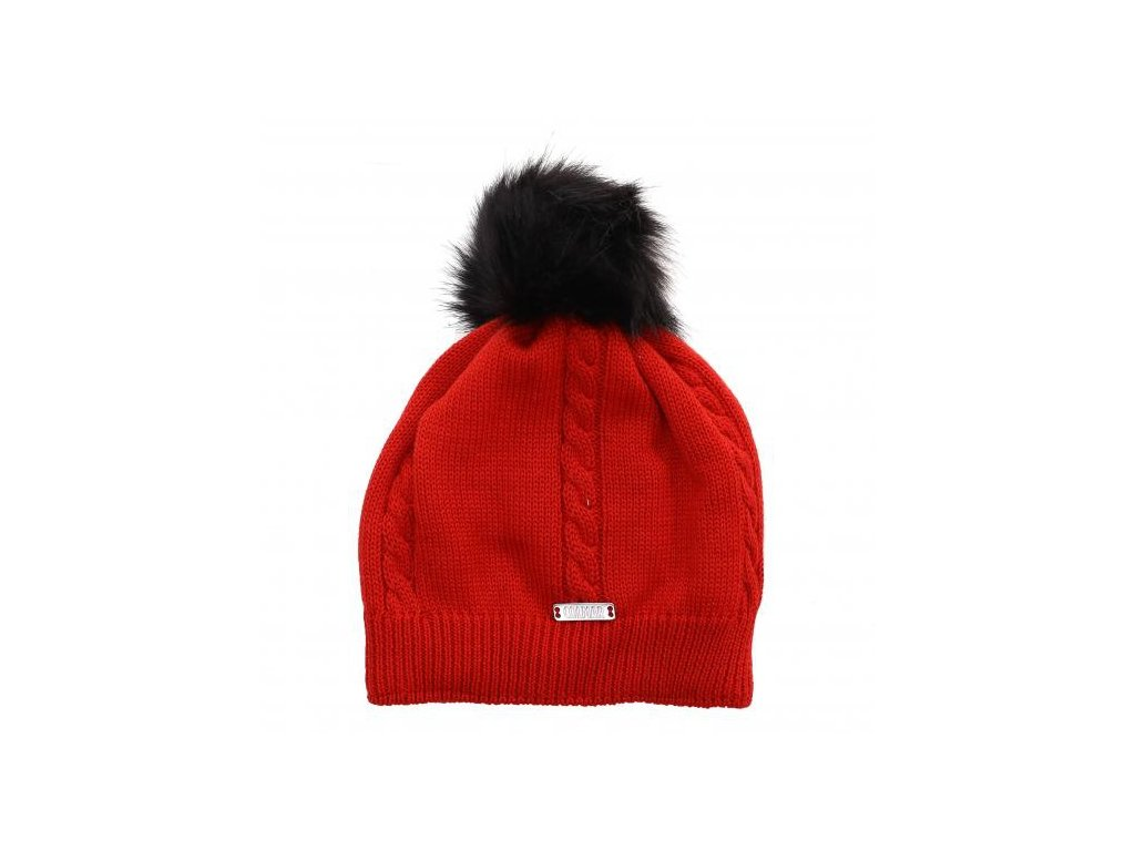COLMAR - čiapka LADIES HAT red (Velikost UNI)