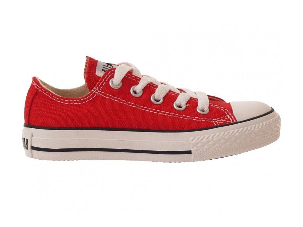 CONVERSE - obuv STR CHUCK TAYLOR ALL STAR  red (Velikost 27)