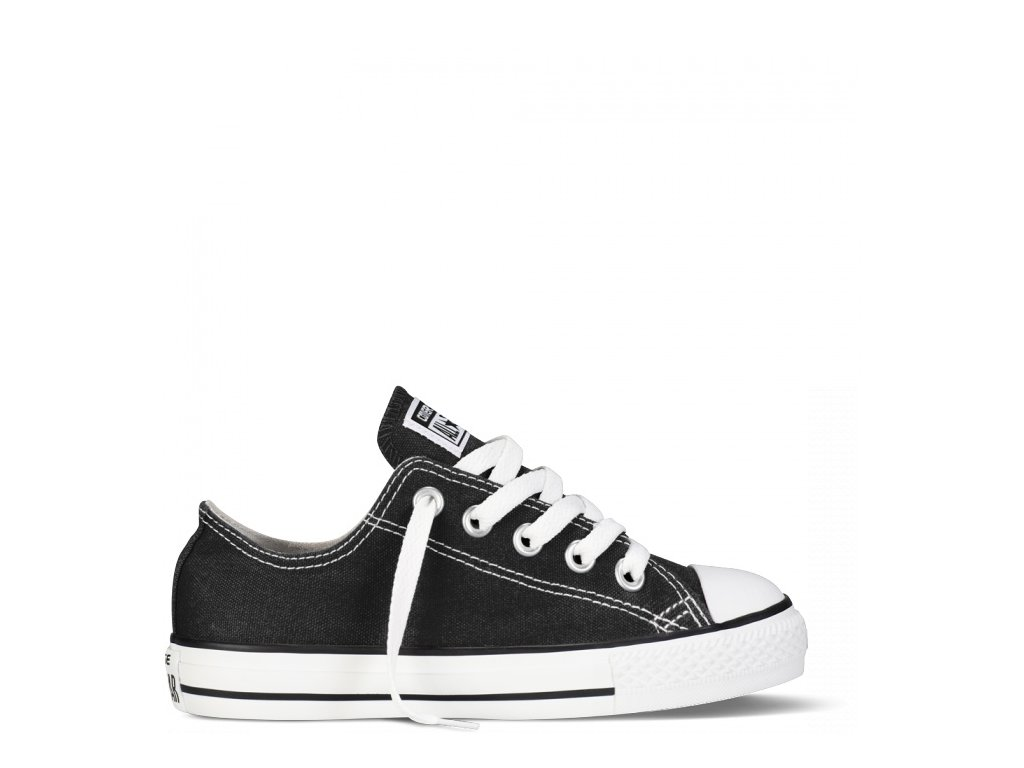 CONVERSE - obuv STR CHUCK TAYLOR ALL STAR baby black (Velikost 20)