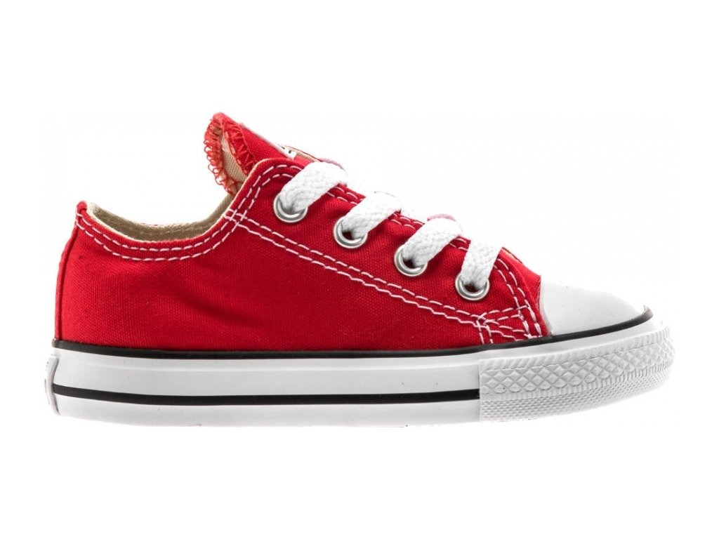 CONVERSE - obuv STR Chuck Taylor All Star baby red (Velikost 21)