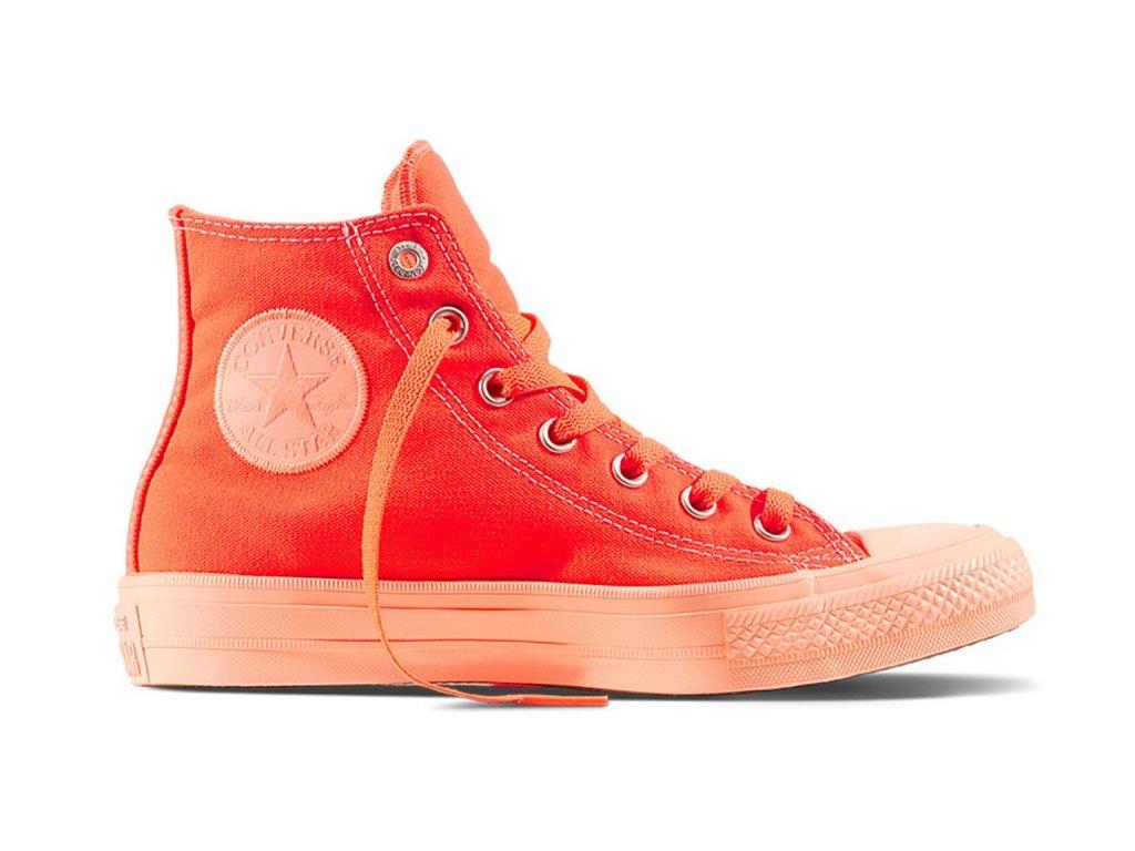 CONVERSE - obuv STR Chuck Taylor All Star II hyper orange (Velikost 36)