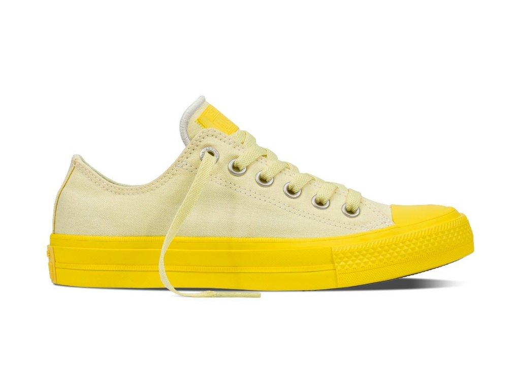 CONVERSE - obuv STR Chuck Taylor All Star II lemon/yellow (Velikost 36)