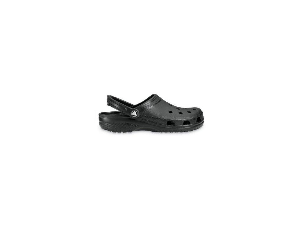 CROCS - šľapky CLASSIC Black (Velikost 37-38)