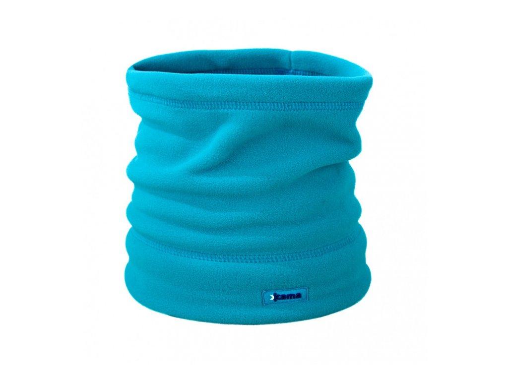 čapica - nákrčník KAMA A14 tyrkysová (Velikost UNI)