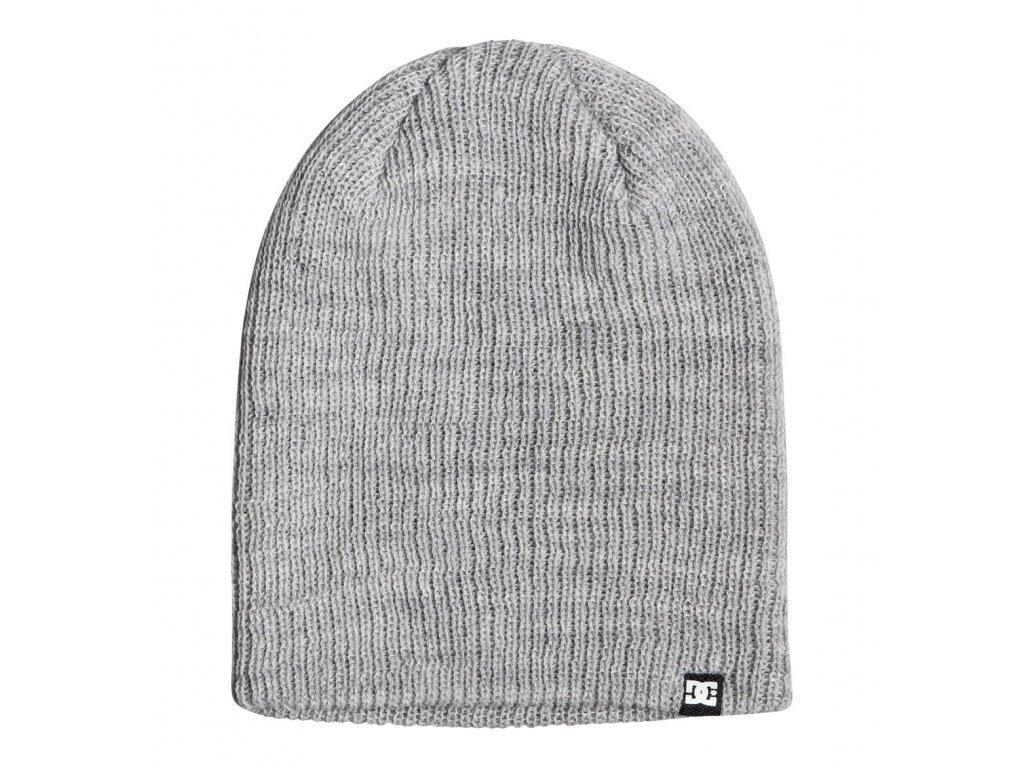 DC - čiapka CLAP grey heather (Velikost UNI)