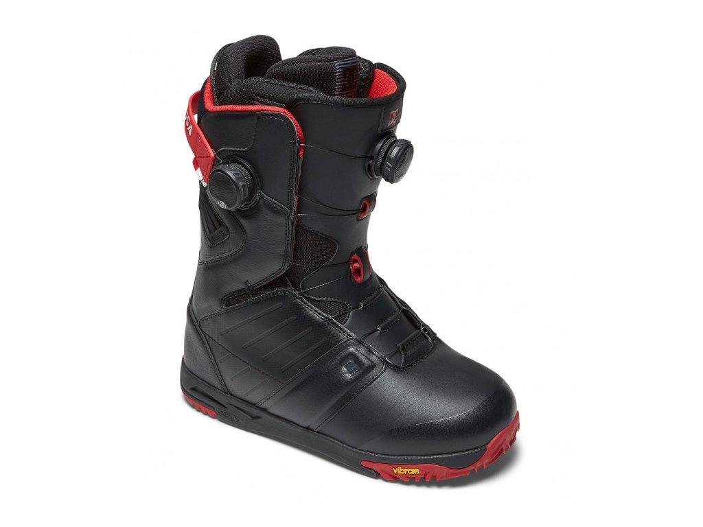 DC - obuv SNB JUDGE black/chilli pepper 17/18 (Velikost 11.5)