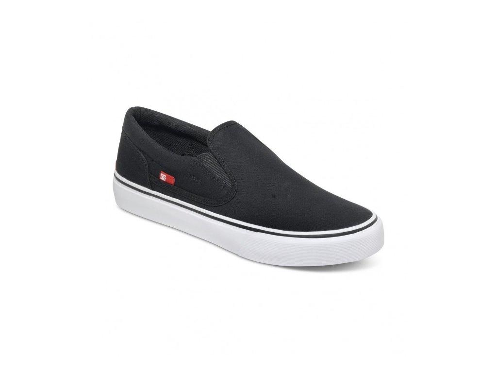 DC - obuv STR TRASE SLIP-ON T  black/white (Velikost 10)