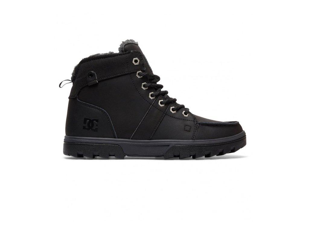 DC - obuv STR WOODLAND black/black (Velikost 10.5)