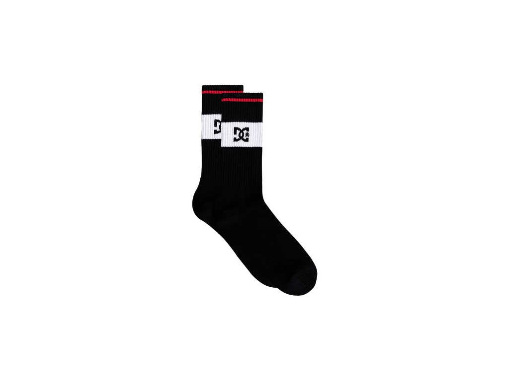 DC - ponožky TO ME black (Velikost UNI)