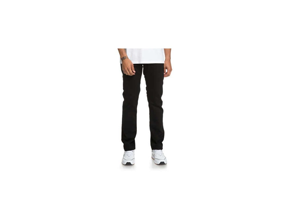 DC - rifle WORKER STRAIGHT STRETCH black rinse (Velikost 31-32)
