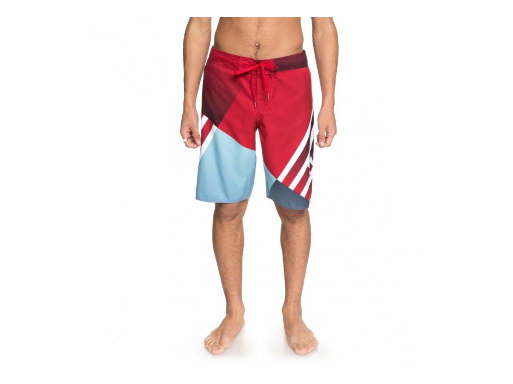 DC - šortky B VERTICULAR 21 TANGO RED (Velikost 30)