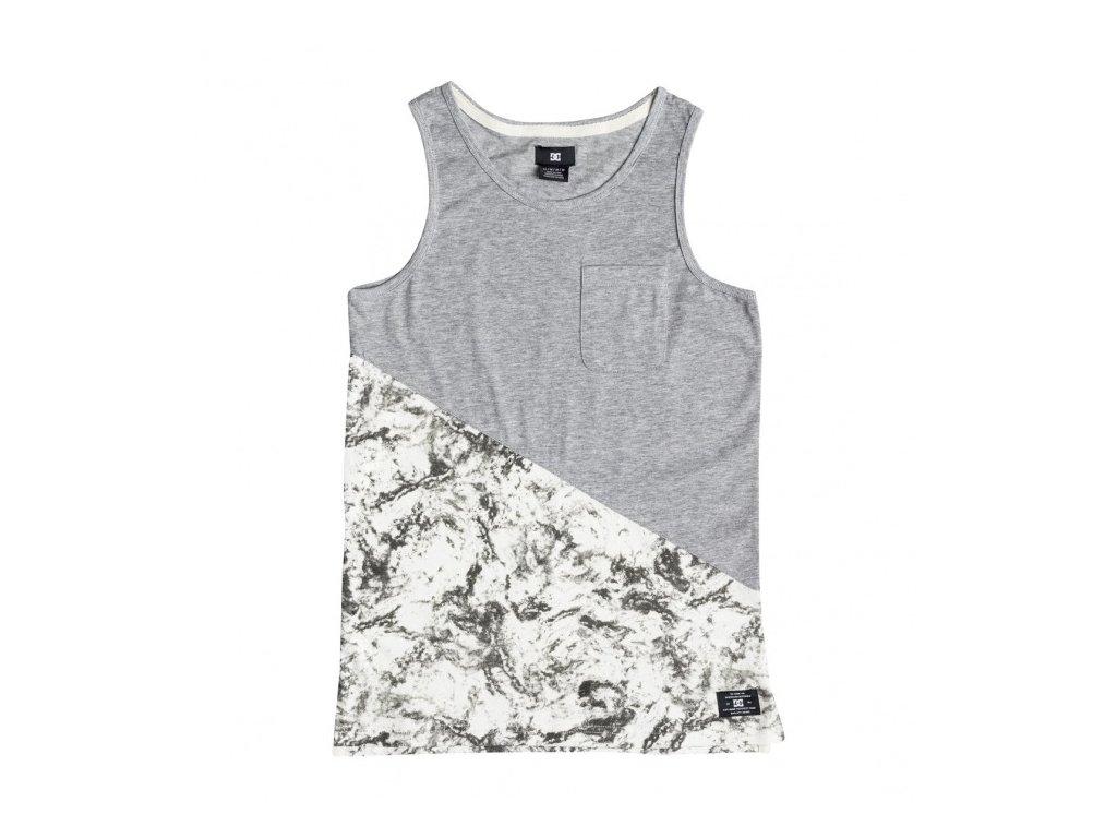 DC - tričko BR BLOOMINGTON TANK BOY LILY WHITE STORM PRINT (Velikost 12)