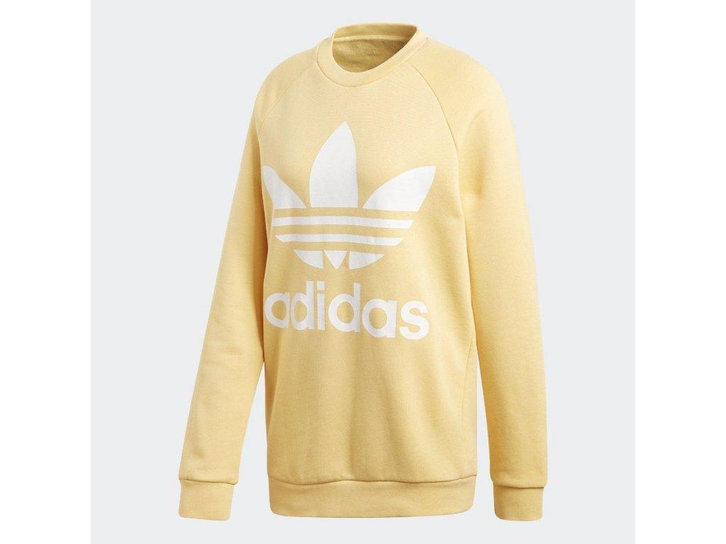 women s adidas originals trefoil oversize sweatshirt sand cy4758 8 901c5386 ed8e 4c74 a64b cabaa76b371f 1050x[1]