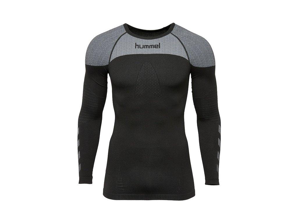 HUMMEL - tričko T DR FIRST COMFORT black (Velikost M-L)