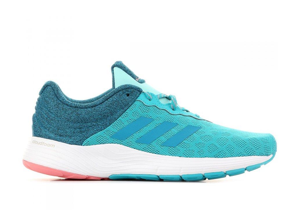 ADIDAS - obuv RUN FLUIDCLOUD W BLUE/TACROS (Velikost 4)