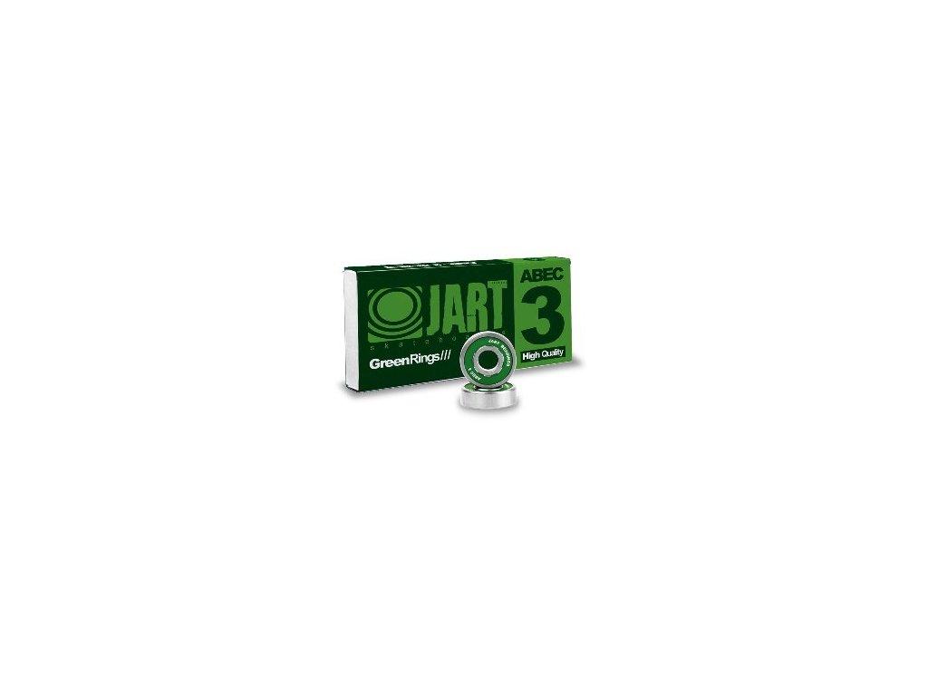 JART - ložiská Abec 3 608 ZZ Set green (Velikost UNI)