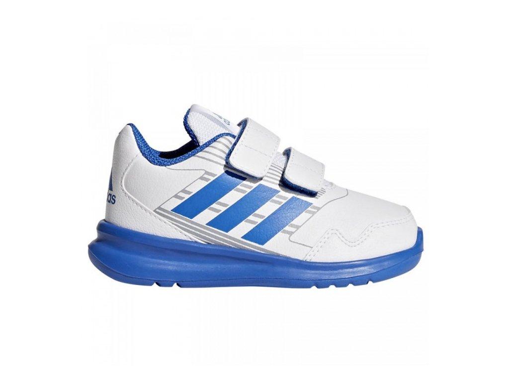ADIDAS - obuv STR AltaRun CF I white/blue (Velikost 20)