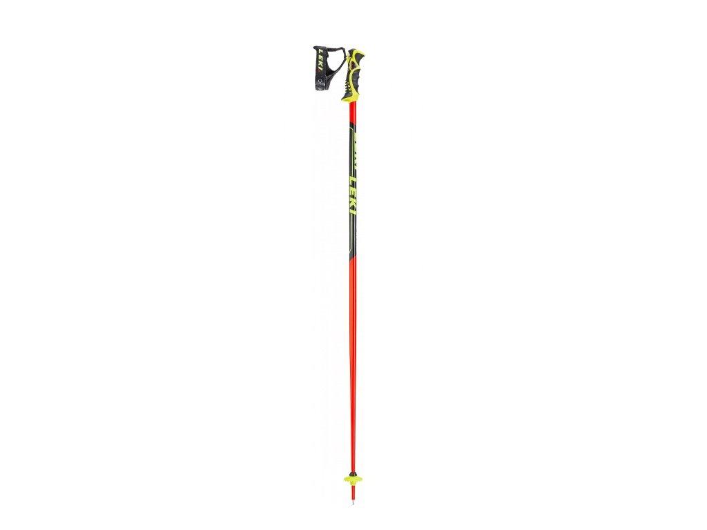 LEKI - palice Worldcup Racing SL  neon red/black (Velikost 130)