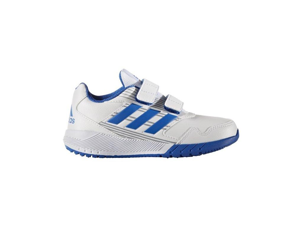 ADIDAS - obuv STR AltaRun CF K white/blue (Velikost 28)