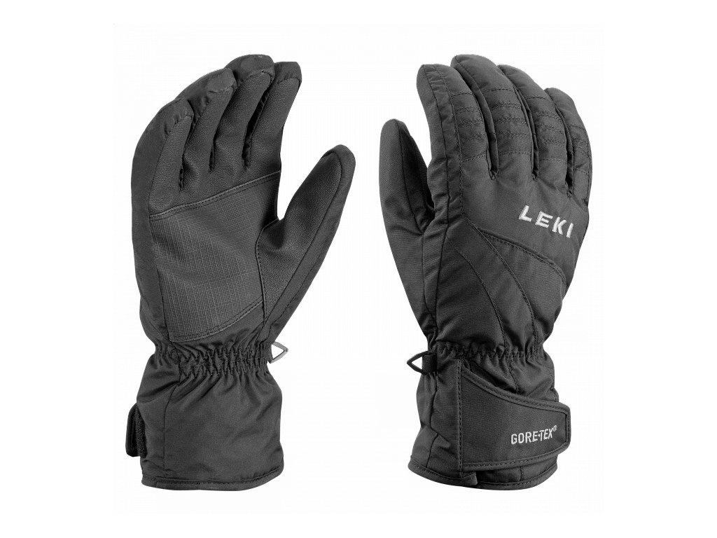 LEKI - rukavice Glove Alpe GTX black (Velikost 10.5)