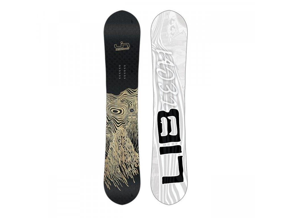 LIB-TECH - snowboard SKATE BANANA BTX wood (Velikost 154)