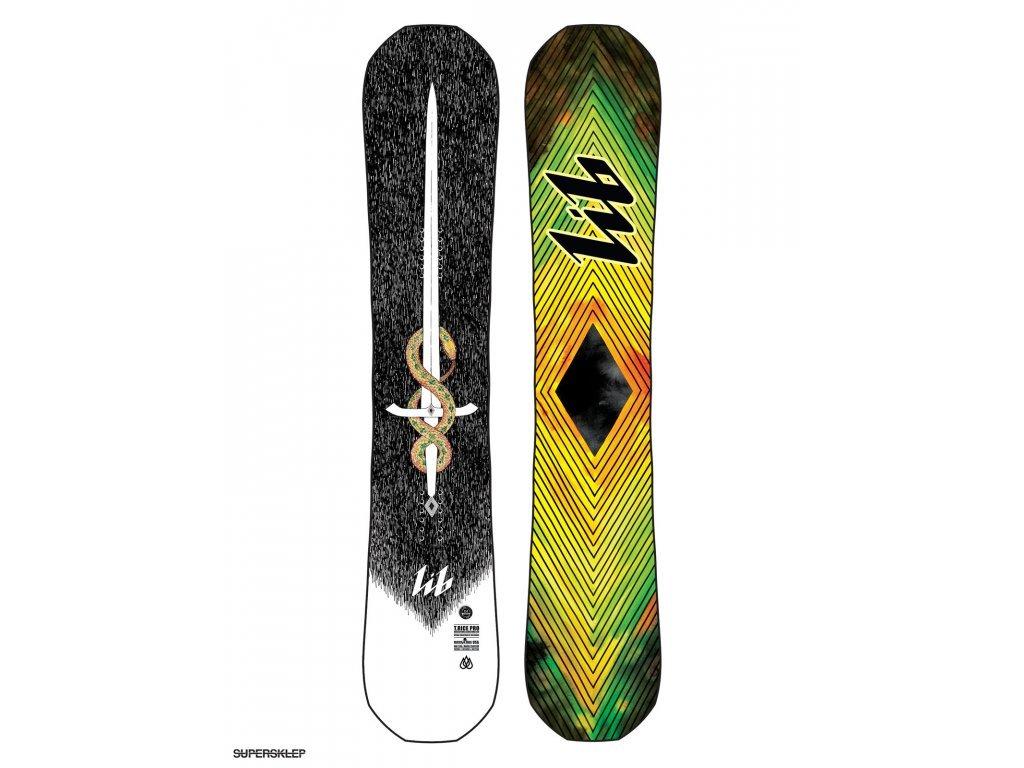 LIB-TECH - snowboard TRAVIS RICE PRO HP C2 yellow/geen (Velikost 157)