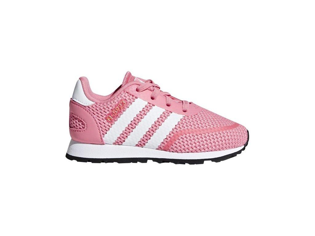 ADIDAS - obuv STR N-5923 EL I pink/white (Velikost 25.5)
