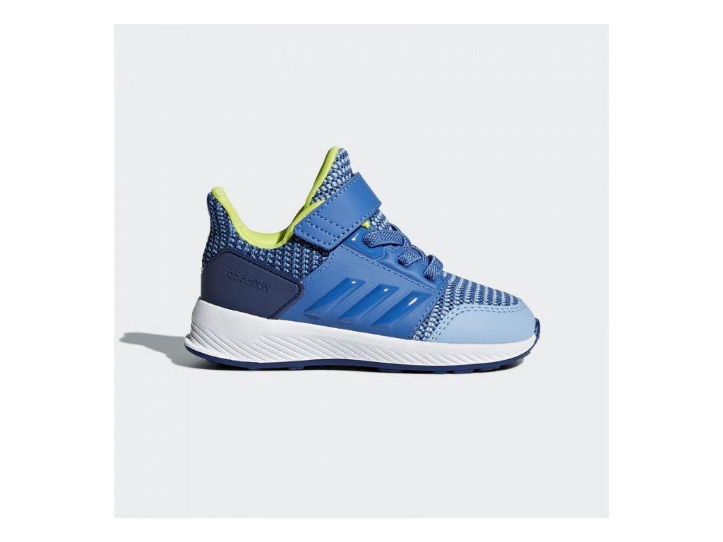ADIDAS - obuv STR RapidaRun EL I ash blue (Velikost 21)