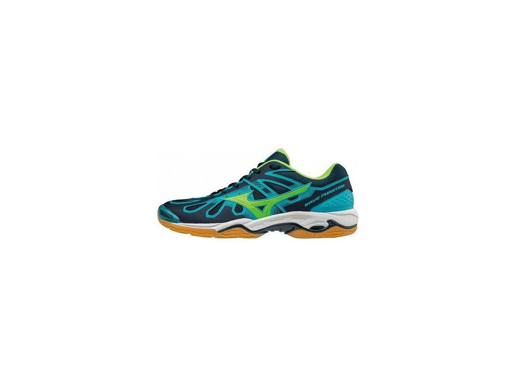MIZUNO - obuv IN WAVE PHANTOM BLUE/GREEN (Velikost 42.5)