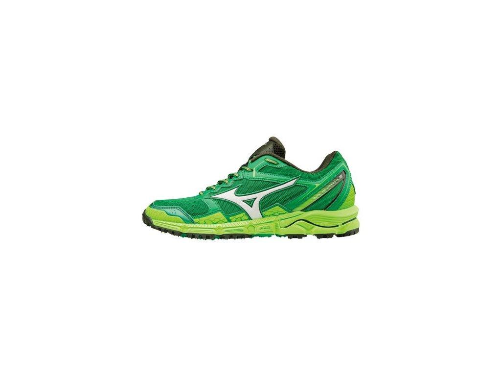 MIZUNO - obuv RUN WAVE DAICHI 3 GREEN/WHITE (Velikost 42)