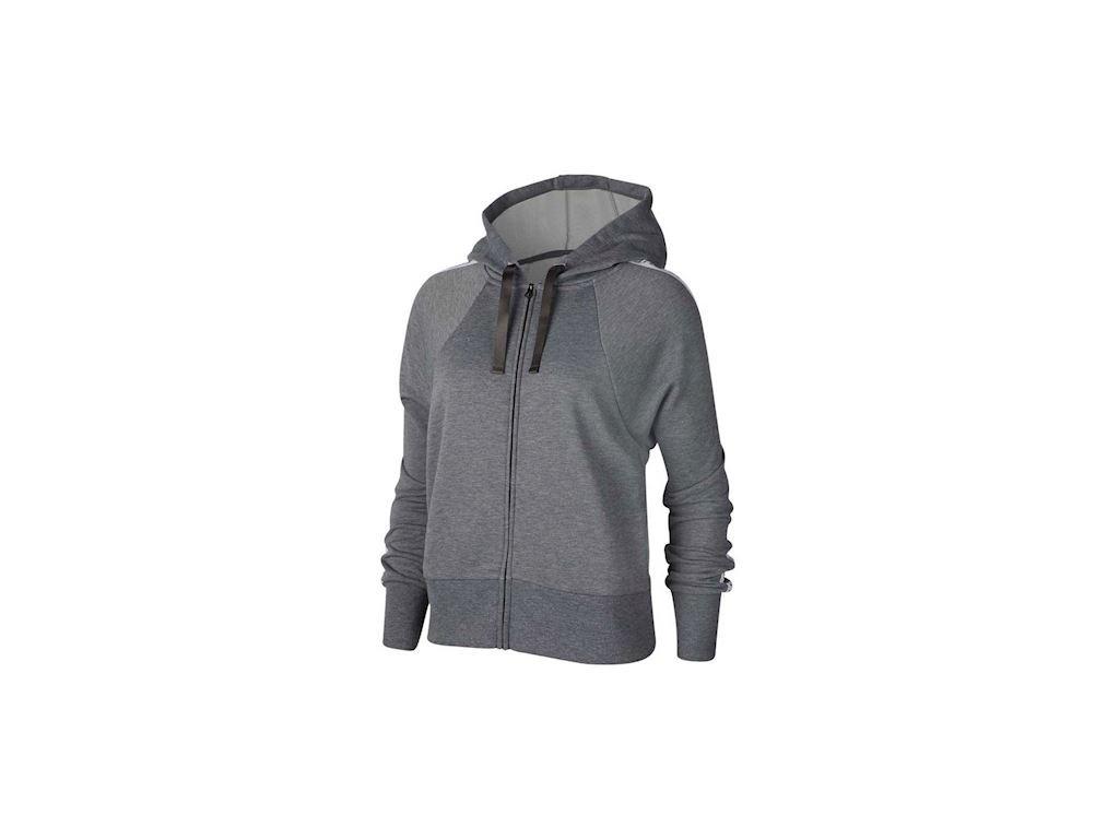 NIKE - mikina DrI-FIT Get Fit grey (Velikost M)