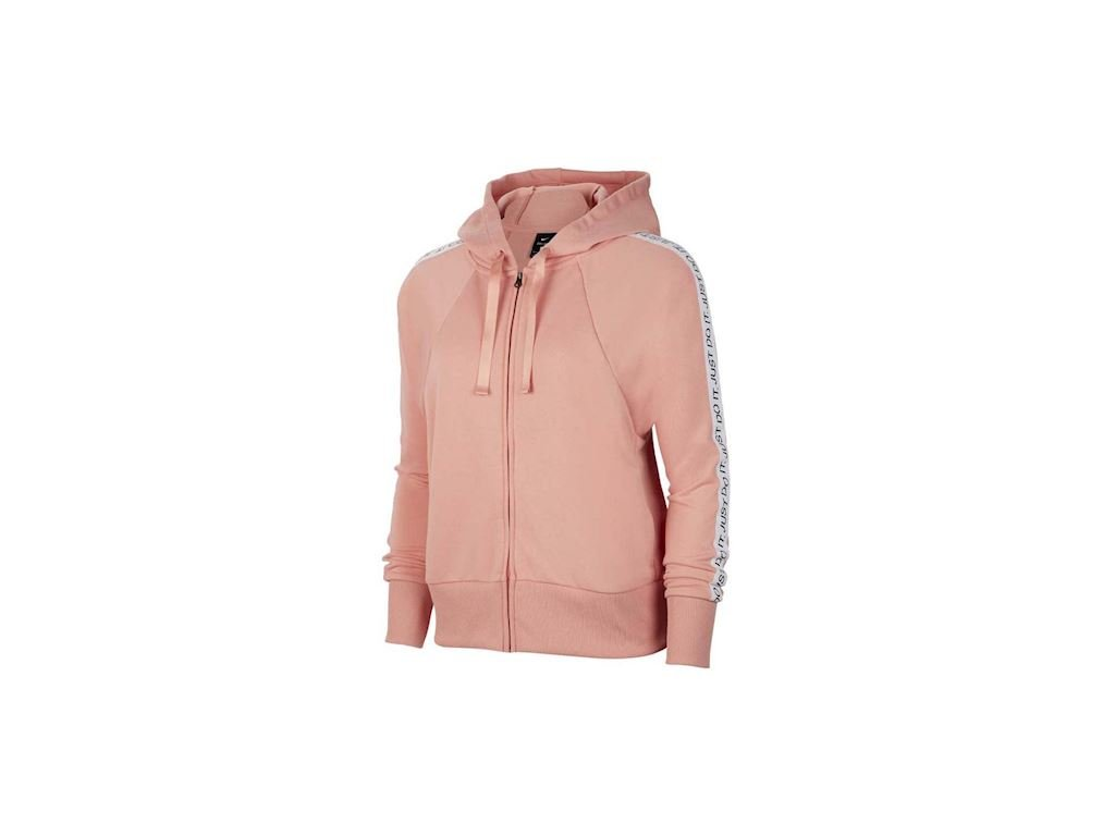 NIKE - mikina DrI-FIT Get Fit shell pink (Velikost L)