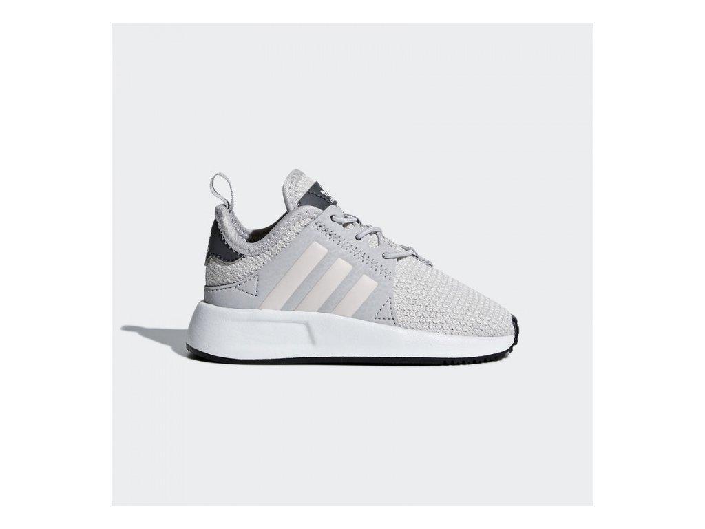 ADIDAS - obuv STR X_PLR EL I grey (Velikost 20)